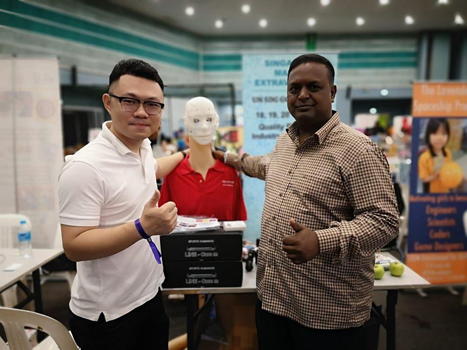 Shaun from @positiveyield malaysia
