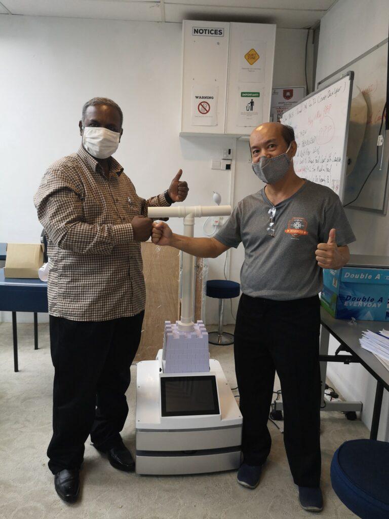 Banyi Disinfectant Robot – POC