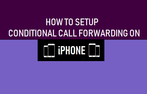 Conditional Forwarding on an iPhone